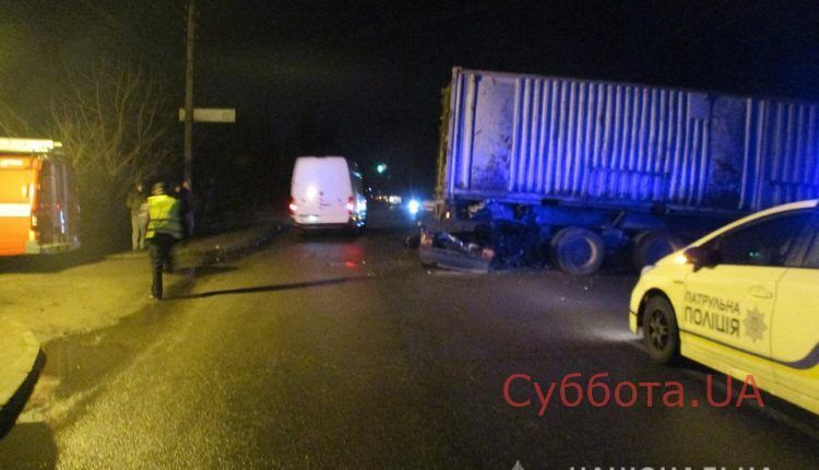 В Запорожье в результате ДТП погиб молодой парень
