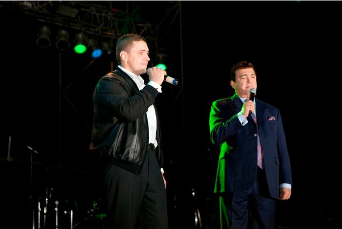 На фото – Александр Дубовой и Иосиф Кобзон