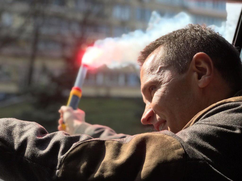 Деревянко поддержал автопробег за доступные авто в Киеве