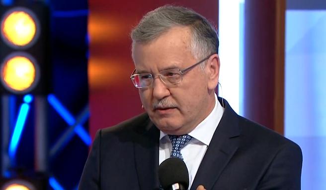 Гриценко дал ответ по передаче голосов Зеленскому