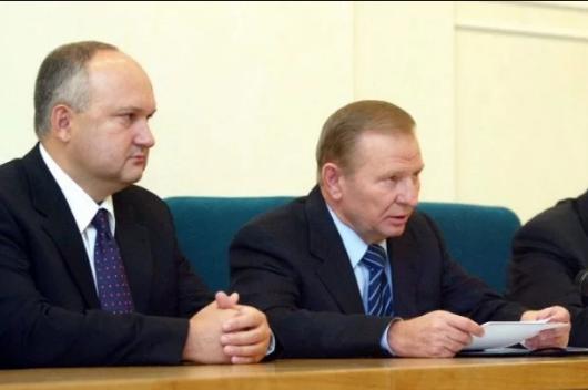 Игорь Смешко и Леонид Кучма