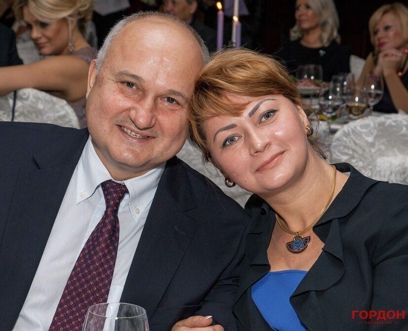 Игорь Смешко с женою Юлией
