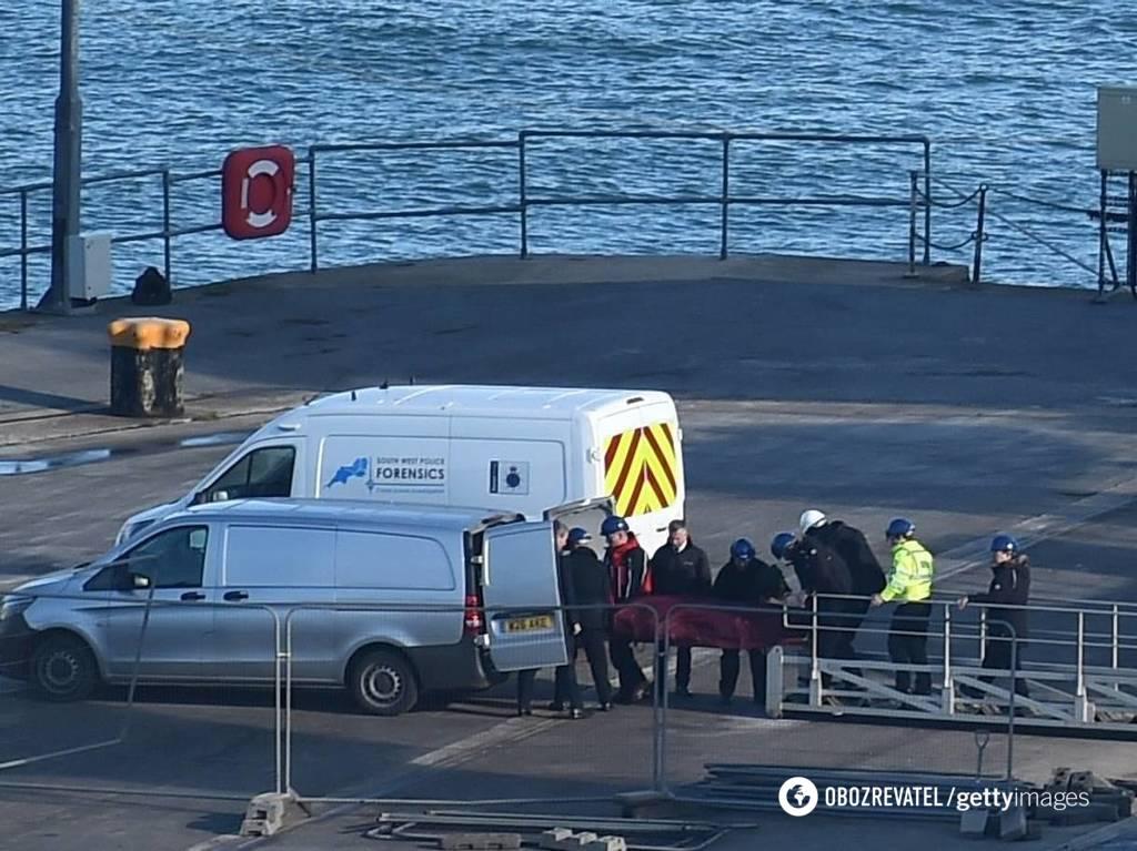 Эвакуация тела Салы