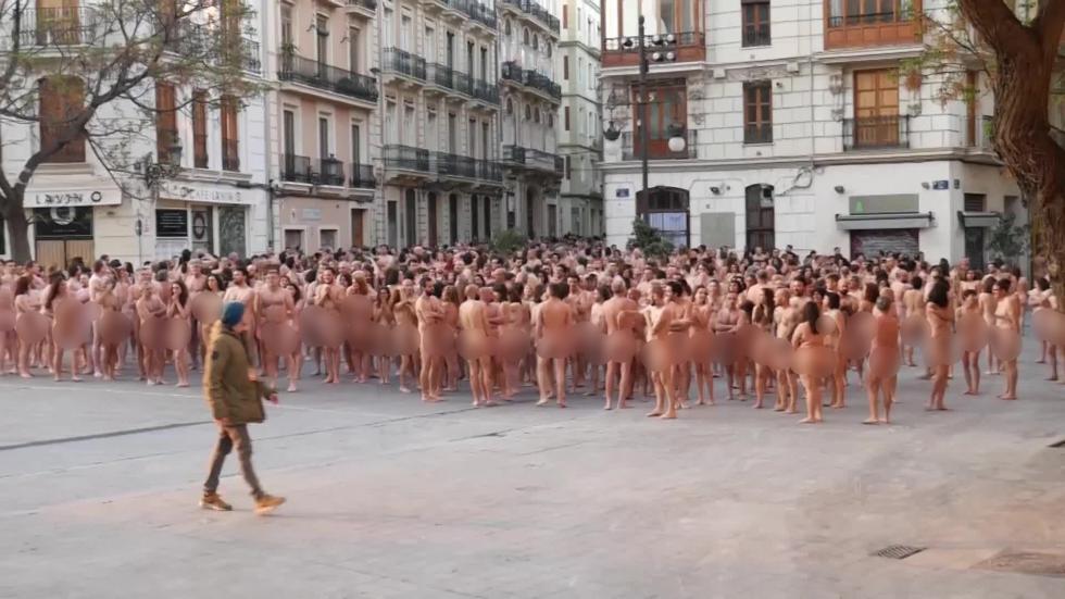 Голая фотосессия в Валенсии