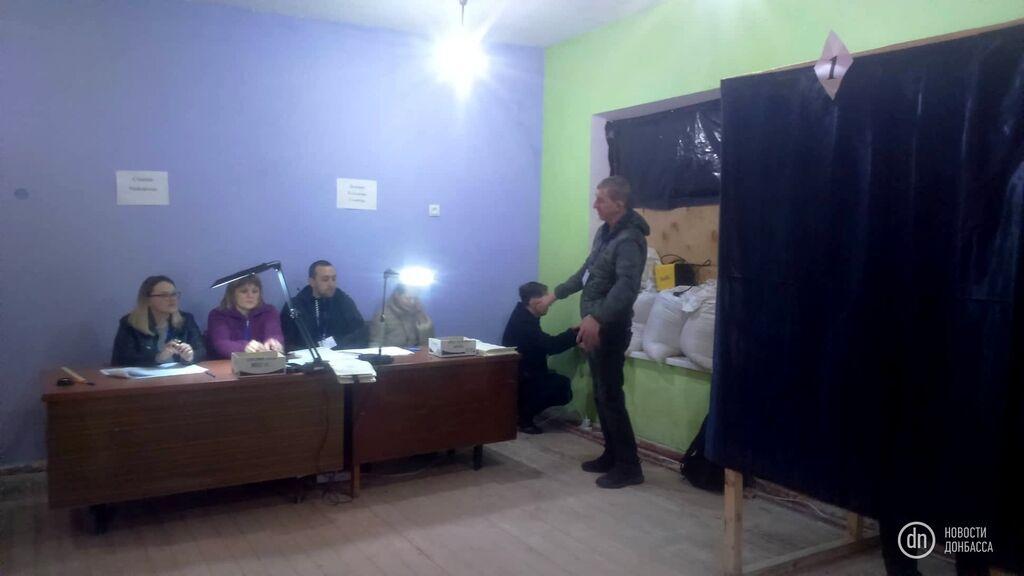 Як проходять вибори президента України на Донбасі