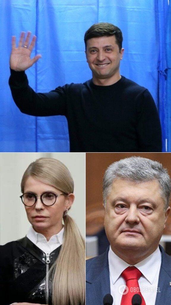 Лидеры выборов президента