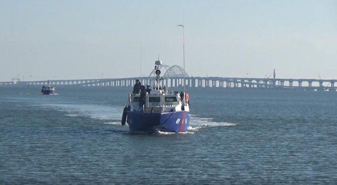 Росія посилила охорону Кримського моста: озвучені погрози