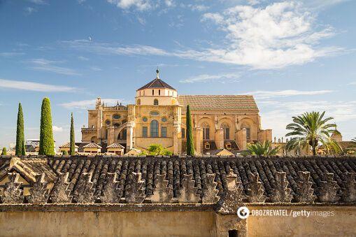 Кордовская соборная мечеть в Испании