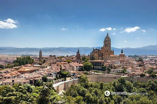 Площадь Испании в городе Севилья