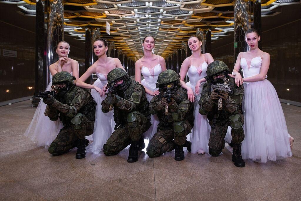Поздравления от военных с 8 марта