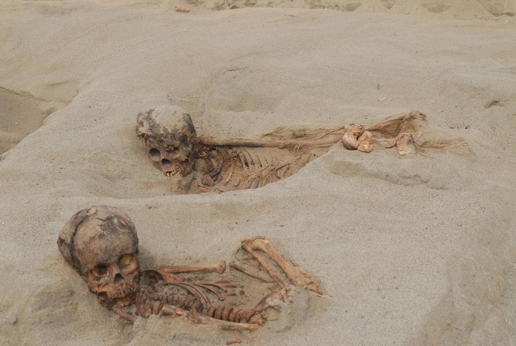Вырезали сердца: в Перу нашли масштабное ритуальное захоронение