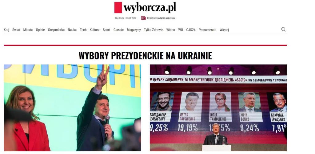 Западные СМИ о выборах в Украине