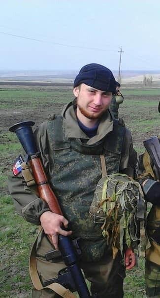 Убитый российский оккупант
