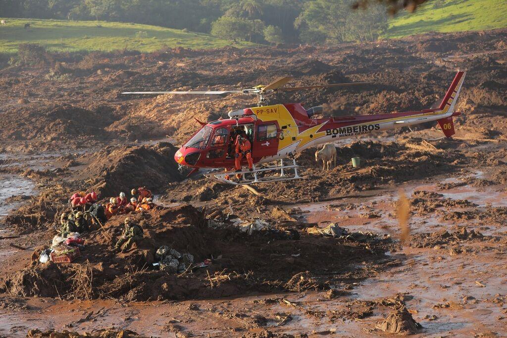 Дмитрий Комаров во время катастрофы в Бразилии