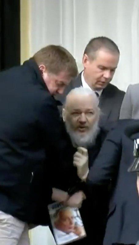 Затримання Ассанжа у Лондоні