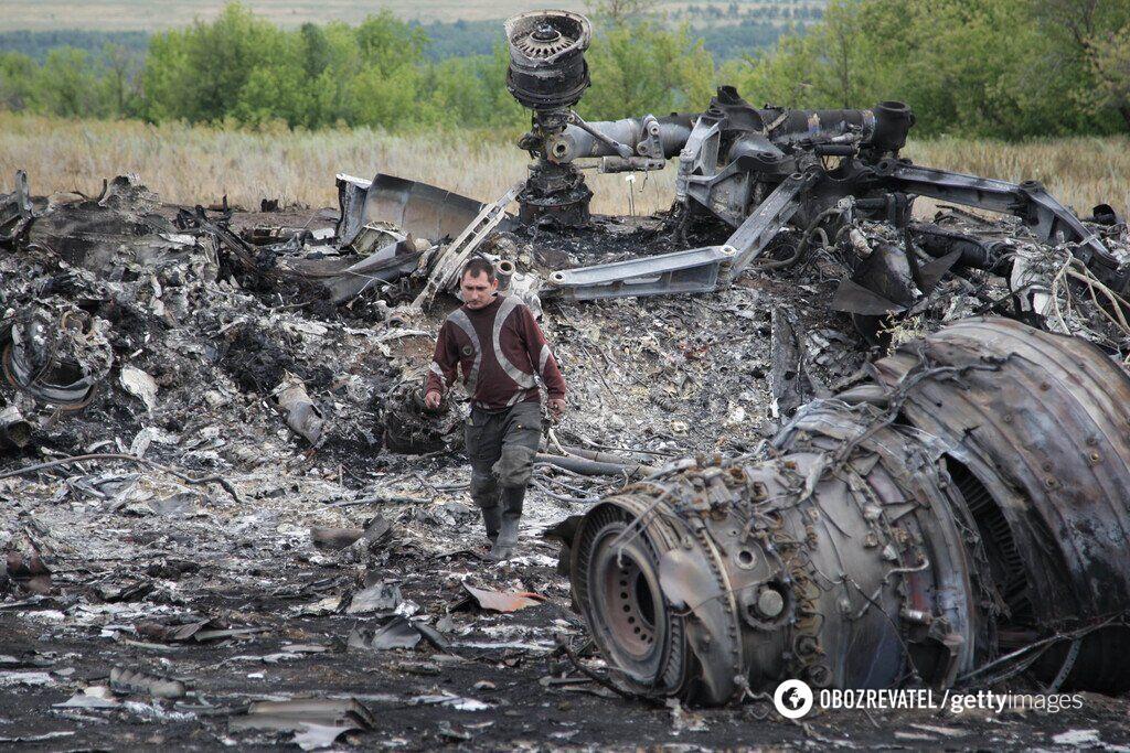 Катастрофа Boeing MH17
