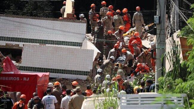 У Ріо-де-Жанейро обвалилися будинки: багато жертв