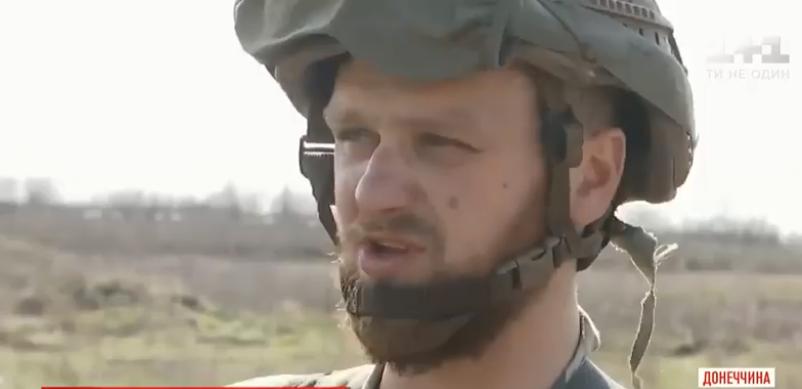 Бойцы ВСУ показали отвоеванную зону под Донецком