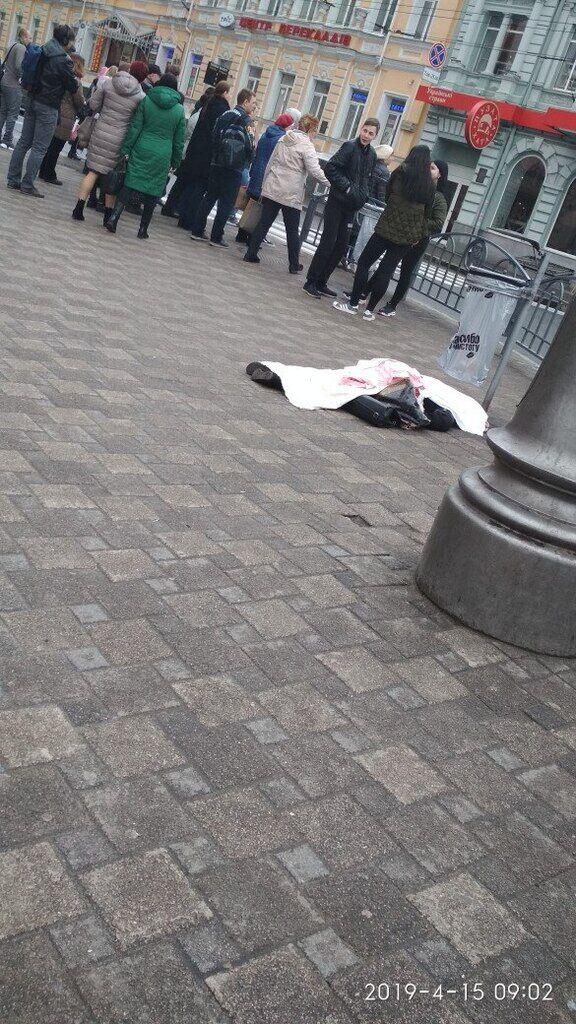 В Харькове около метро умерла женщина