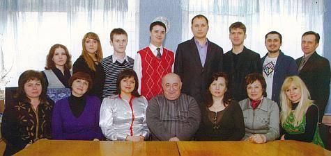 Батько Зеленського (в центрі) завідує кафедрою