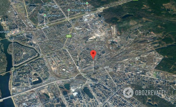 "Надзвичайна подія сталася на ж/д станції ""Дарниця"""