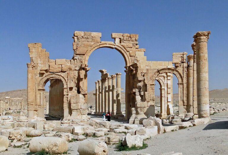 Монументальная арка Пальмиры
