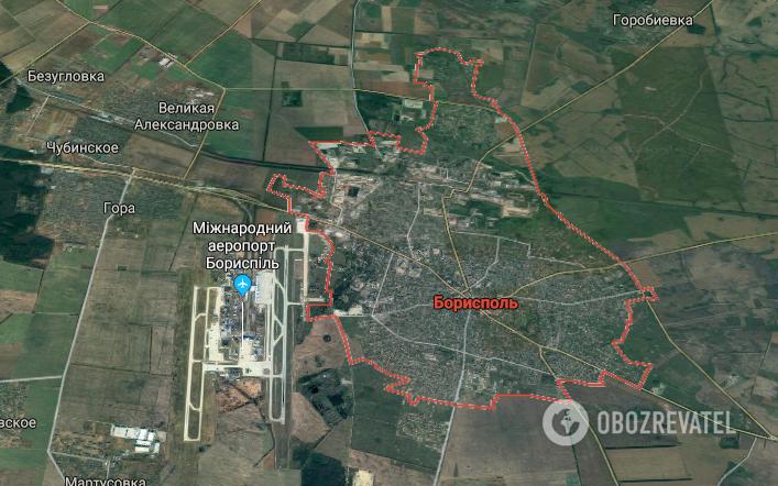 Трагедия под Киевом