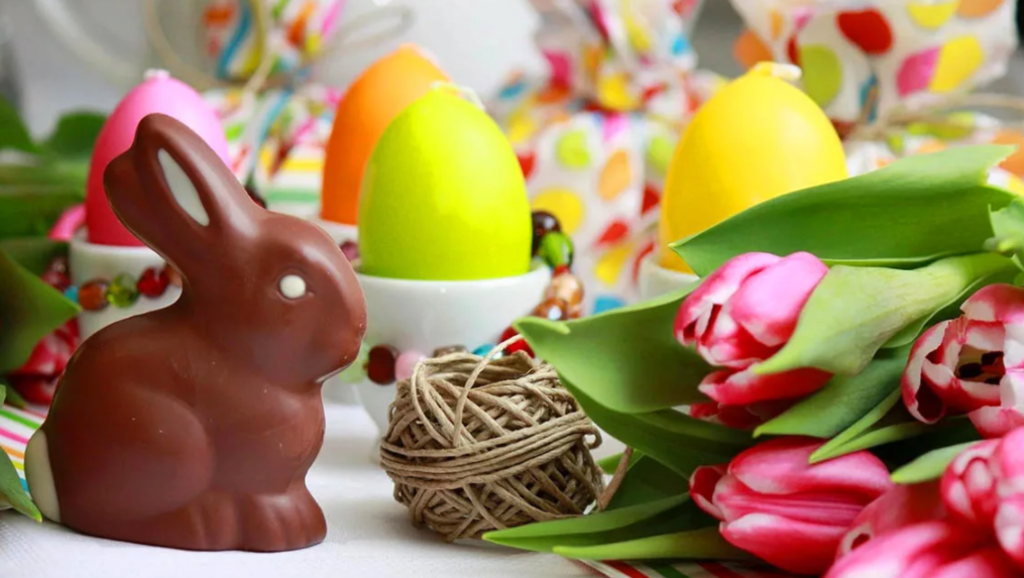 Шоколадный кролик на Пасху