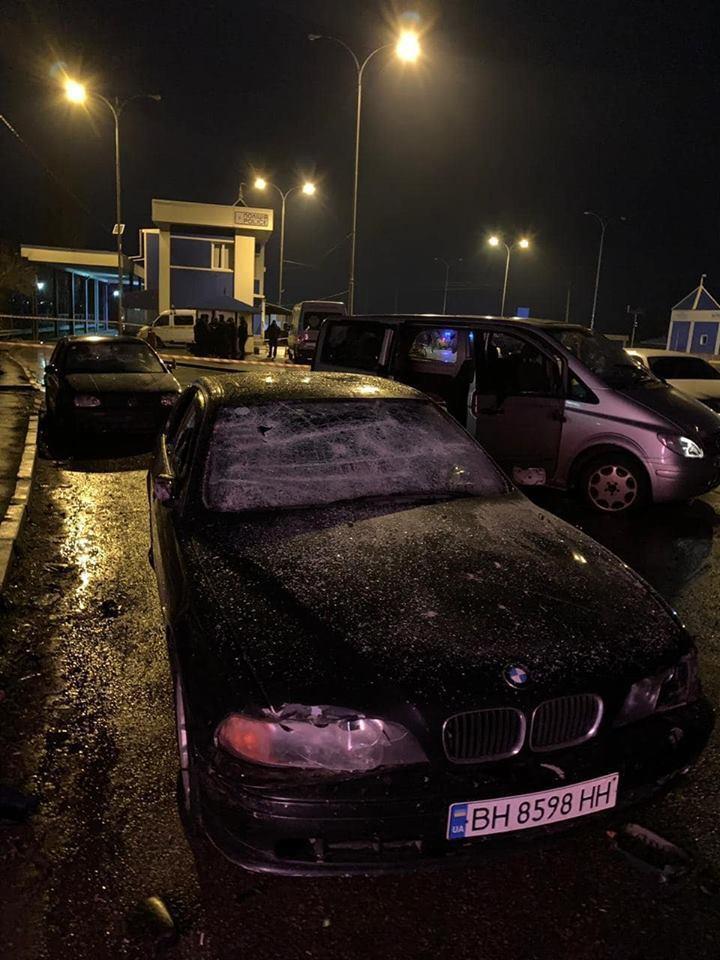 Пошкоджені автомобілі