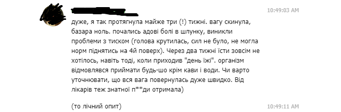 Українців попередили про небезпеку популярної дієти