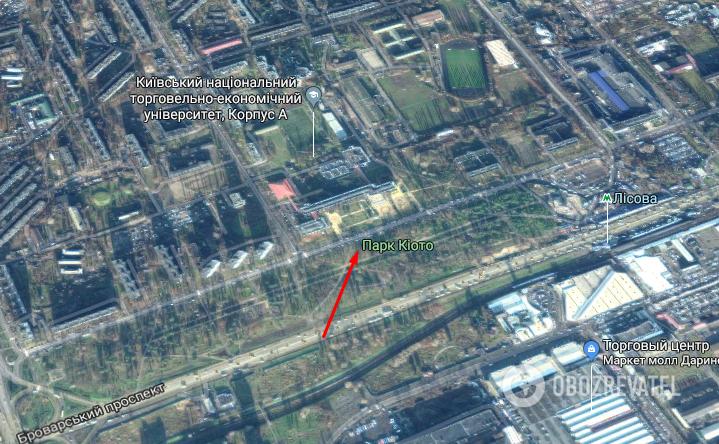 Нападение в Киеве