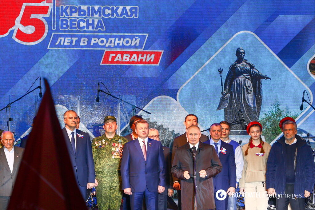 П'ятиріччя анексії Криму