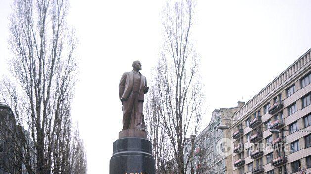 Колишній пам'ятник Леніна в Києві