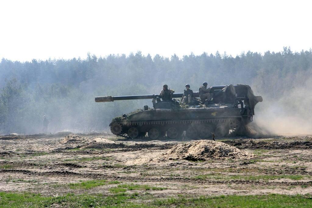 """Украинские """"боги войны"""" успешно """"отбили"""" атаку"""