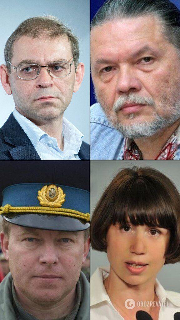 Нардепы Сергей Пашинский, Александр Бригинец, Юлий Мамчур и Татьяна Черновол