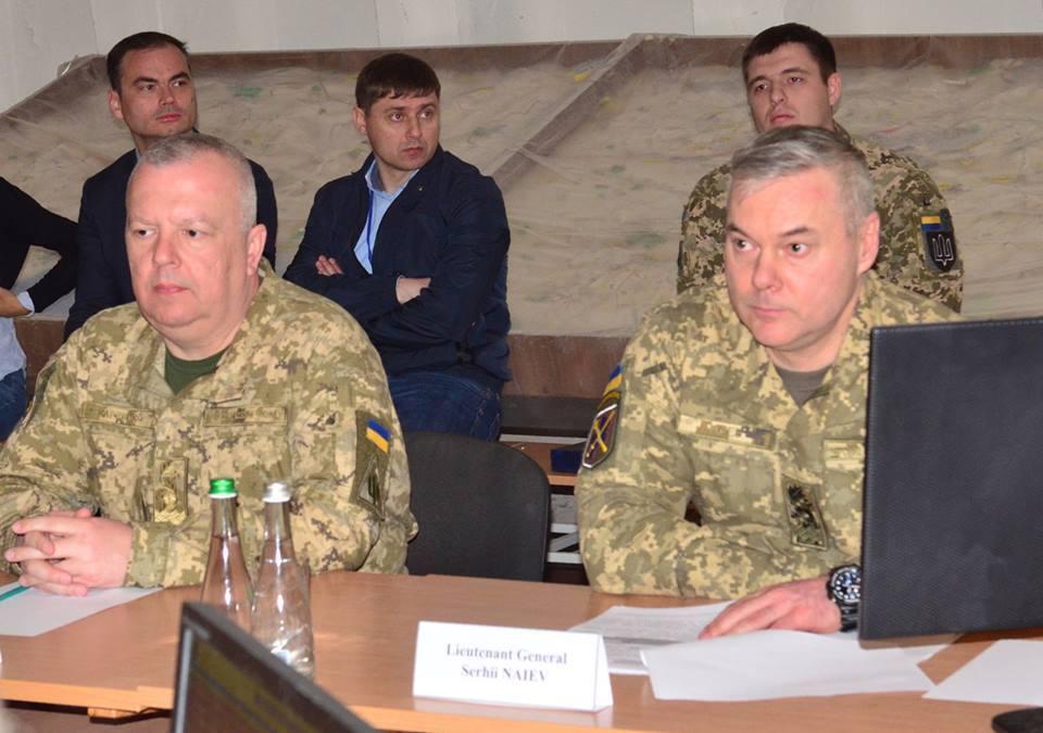 Зустріч Сергія Наєва з Клаусом Хйорт Фредеріксеном в ООС