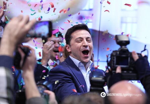 Переможець виборів президента України Володимир Зеленський
