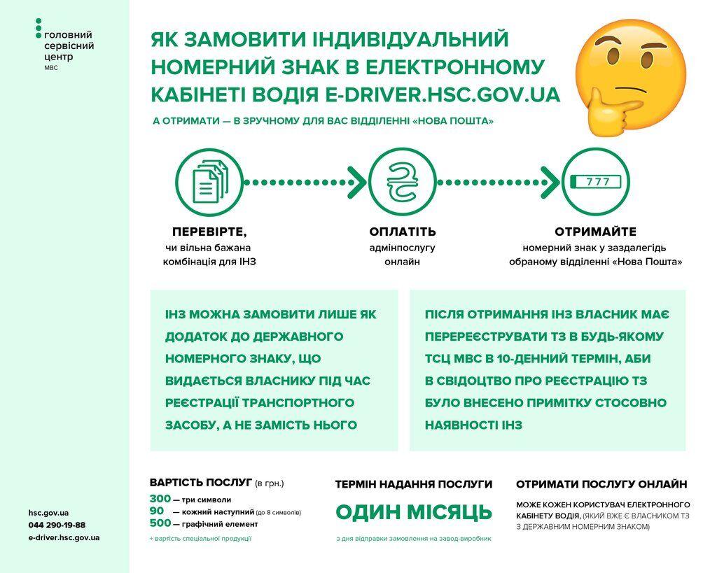 В Україні почали видавати автономери онлайн: як отримати