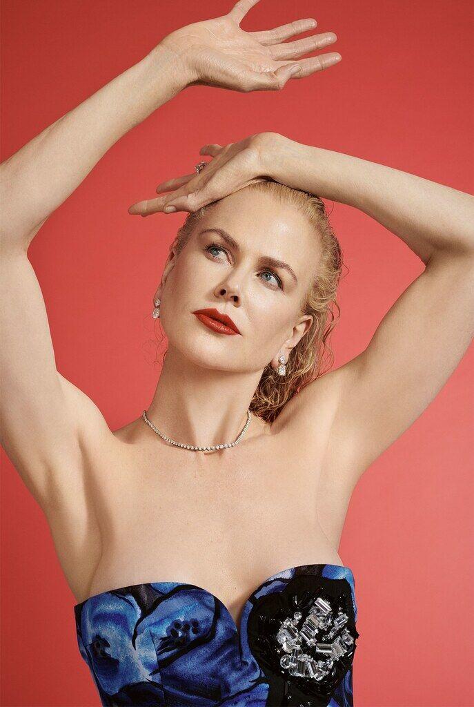 Кідман показала голі груди у пікантній фотосесії
