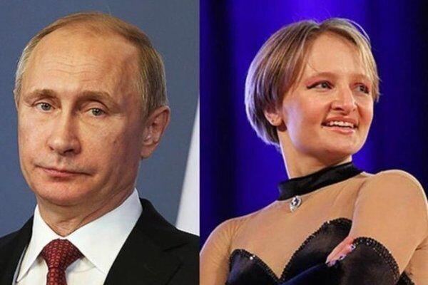 Володимир Путін і Катерина Тихонова