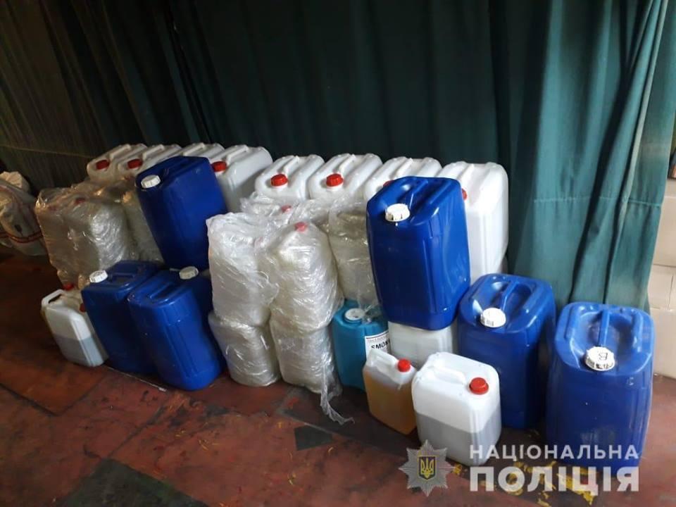 Задержание наркоторговцев в Киеве