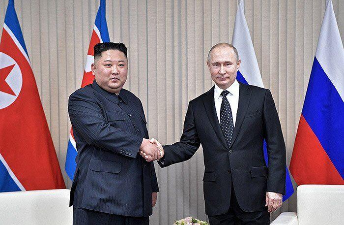 Зустріч Володимира Путіна і Кім Чен Ина