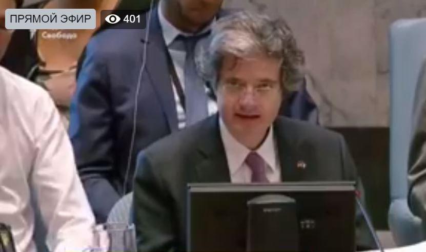 Постоянный представитель Франции в ООН