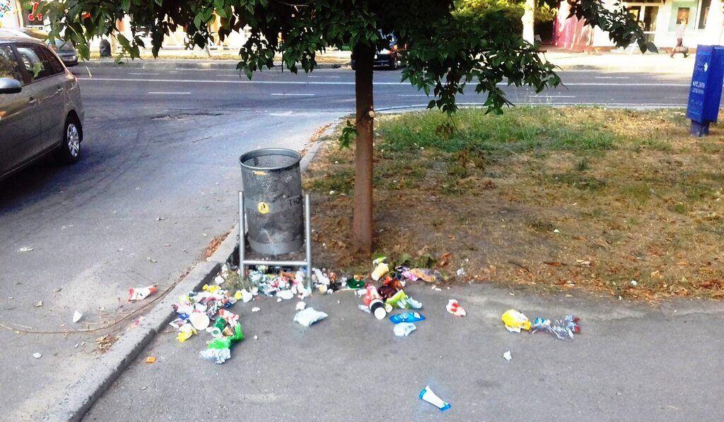 В Україні запропонували посилити покарання за сміття