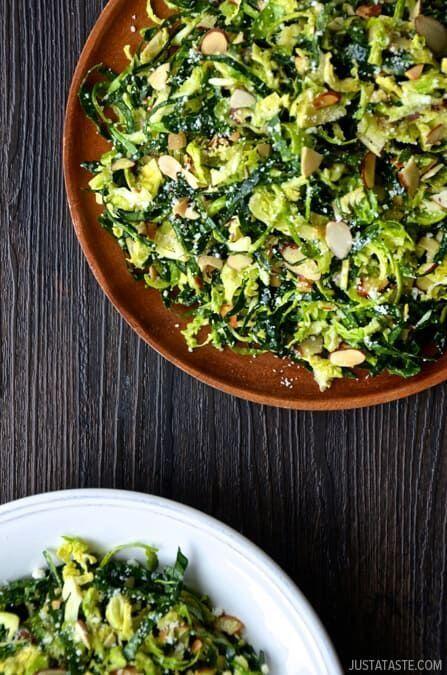 Салат з капусти з пармезаном