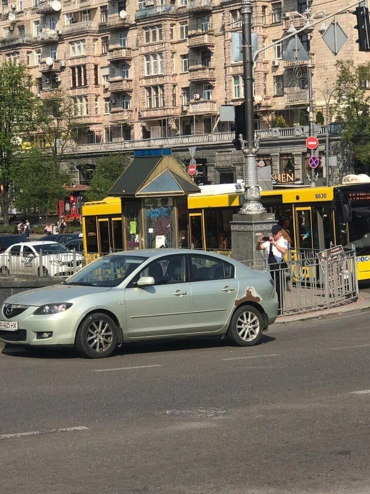 В Киеве появились первые инспекторы по парковке