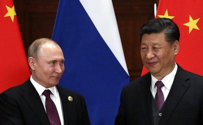 Глави Росії та Китаю