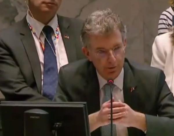 Постоянный представитель ФРГ в ООН