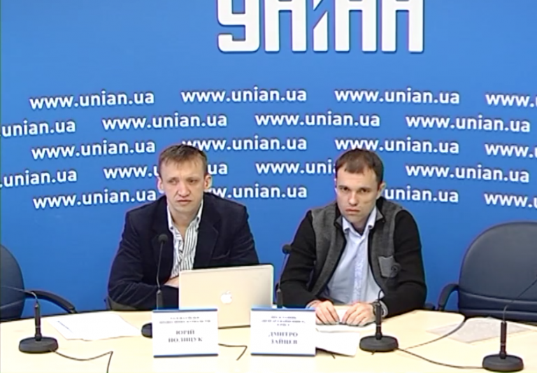 Дмитро Зайцев (праворуч)