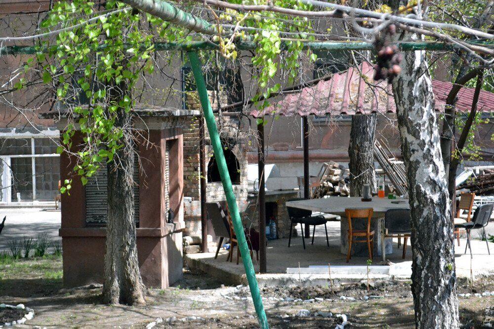 Задний двор Дома профсоюзов в Одессе